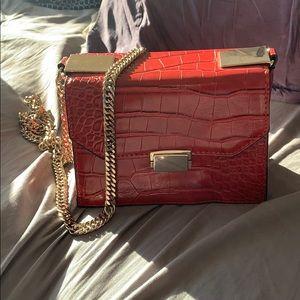 Zara red box purse